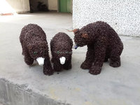factory direct wholesale artificial green sculpture imitation animal