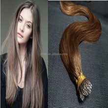 xuchang hair factory real indian human hair tone color i tip hair extension