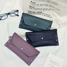 Fashion women Long wallet With Simple Women Multi-Card Holder Pure Colour lady purse women wallet
