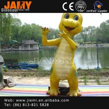 Amusement Park Fiberglass Character Cartoon Dinosaur
