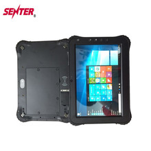 Waterproof IP65 10 Inch Rugged Computer with Intel Baytrail-T Quad core 2G Ram 32G Rom USB RJ45 Docking Station Truck Tablet PC