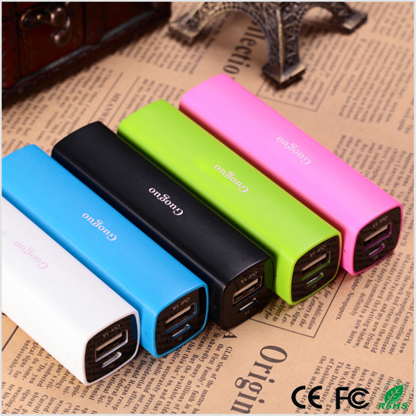 best selling products 2600mah power bank for mobile phone