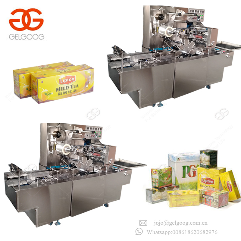 Automatic Manual Food Box Cellophane Film Wrapping Machine Small Box Packing Machine For Sale