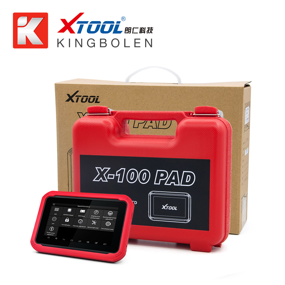 100% Original XTOOL X100 PAD Auto Key Programming X-100 PAD with EEPROM adapter Support oil rest & Odometer Adjustment