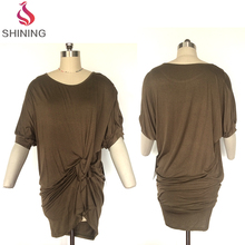 Plus size women clothing, dresses women summer, half sleeve dress