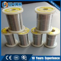 shuanghong stable resistance nichrome 80 20 electrical heating wire