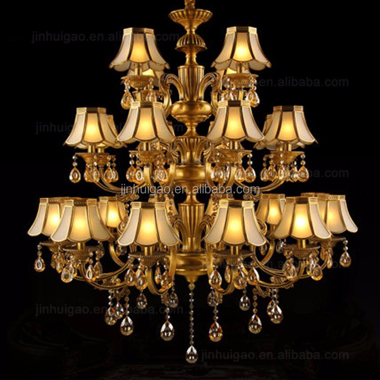 Antique Brass Hotel Lobby Chandelier, Manufacturers Chandeliers, Industrial Pendant Light