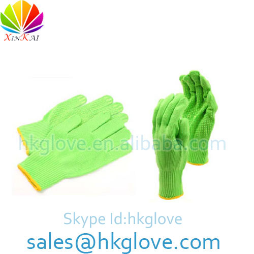 Gardening Gloves with Pvc Dots