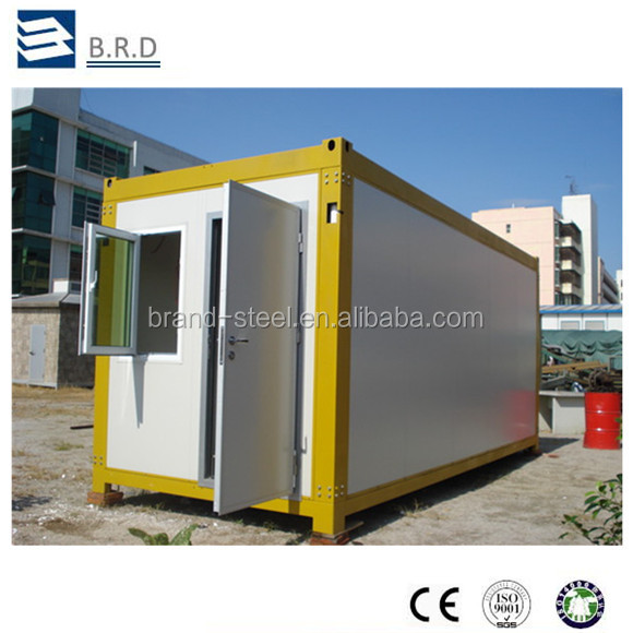 Certificated easy transportation customized mobile living house container for sale