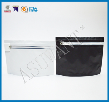 factory custom make locks high quality exit bags/stand up childproof ziplock bag for marjuana