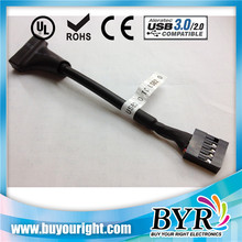 usb3.0 to usb2.0 converter adapter (20 pin female to 10 pin male)