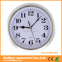 High quality low price plastic round wall clock