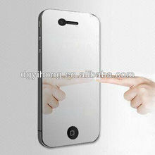 New fashionable mirror screen protector for iphone 4 4s factory supply