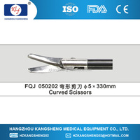 2014 laparoscopic surgical instruments, surgical forceps, curved scissors