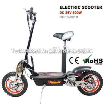 "800W electric scooter foldable with 10"" tyre"
