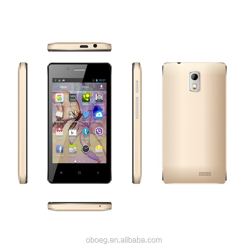 cheap android 4.4 mtk6572 4inch dual sim 3G wholesale smartphone with GPRS