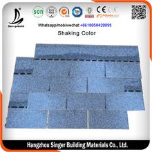 3 tab harbor blue asphalt shingle / asphalt shingle roof tile / Vietnam asphalt shingles