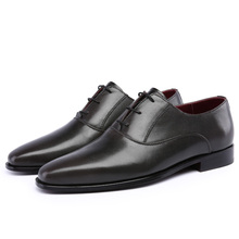 TERSE custom design genunie leather oxford shoes men handmade goodyear welted