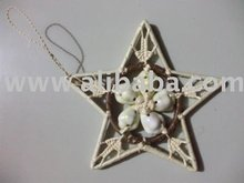 Island Style Pandanus Seashell Decoration Ornament
