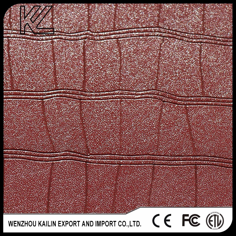 L070246 leather goods for lady shoes or bags pu upper artifical leather