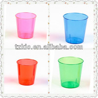 Disposable mini party Blacklight Glow shot glass