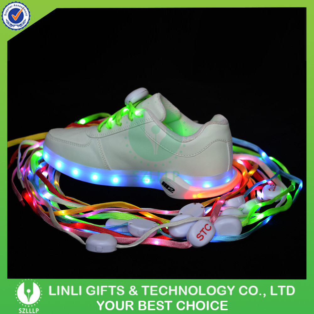 Unisex Outdoor Safety Light LED Shoelace, LED Glow Shoe Laces For Runner
