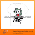 Printing Cotton Poly Blend Tshirts Low Price Good Sale