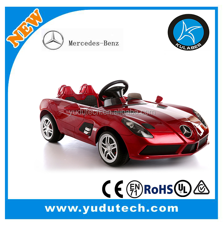 Lisenced Mercedes-benz SLR ,remote control baby electric car,kids battery powered Mp3 2.4G bluetooth remote control ride on toys