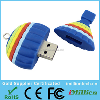 promotional customized mini 1gb silicone usb flash drives