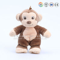 Mini plush monkey king keychain
