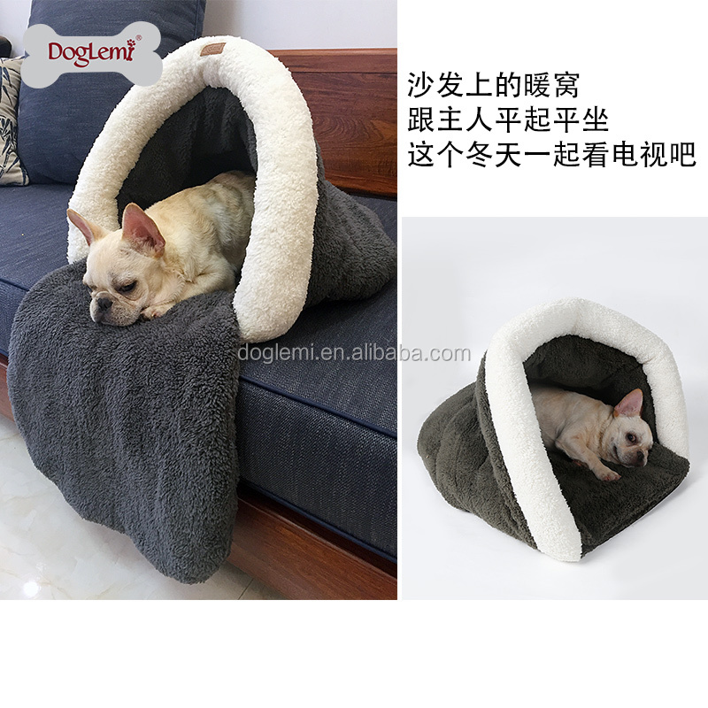 High quality Pet Sleeping Bag Cat House Dog Cave