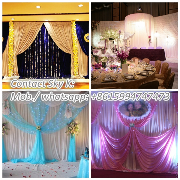 oriental trading company wedding, stage decoration backdrop design sample