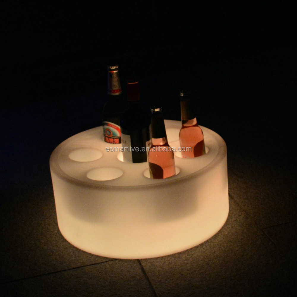 Bar Fruit Plate,light up colorful plastic LED Fruit plate/tray/holder