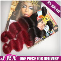 2016 Newest Burgundy Human Extension Dark Red Weave Hair Natural