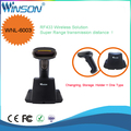 6003 Wholesale RF433 Bluetooth Wireless Laser handheld cheap good quality Barcode Scanner