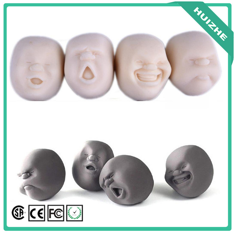 Edtoy Human Face Shape Vent Toys Creative Stress Reliever Ball Anti-stress Toys