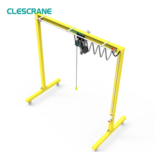 dependable performance travelling portable gantry crane