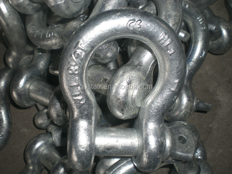 Hardware Us Type Bow Shackle Supplier