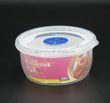 microwave round plastic container custom made