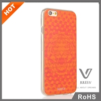 tiger pattern orange made in china 3d cell phone case cover for IPhone