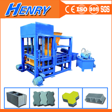 China manufacturer QT4-20 small production line concrete brick and block making machine, block moulding paver machine price