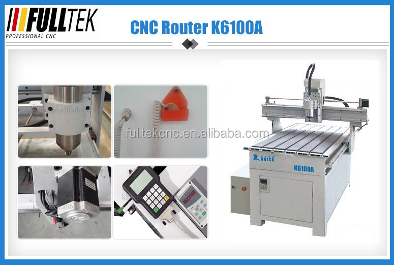 Quick cnc router mini machine K6100A