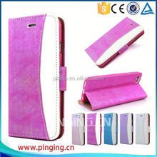 Newest fashion wallet case leather cover for HTC one M7