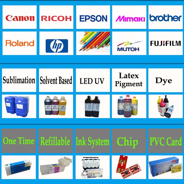 Digital Heat Transfer Sublimation Ink for Epson SureColor F6200 F7200 F9200 Printer