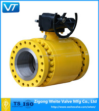 API 6D 3pc flange type ball valve
