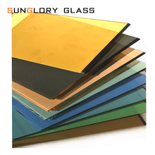 3mm,5mm,6mm,8mm Reflective Color Coated Glass