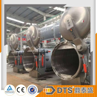 automatic water spray sterilization retort for PP cups