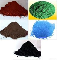 Factory sell pigment iron oxide red and yellow ceramic powder for making paint coating/pavers/concret/interlock