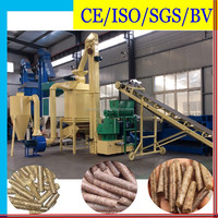 Turn Key Automatic Biofuel Pellet Straw Production Line with Price