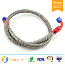 Colored Low friction performance ptfe Brake hose braided with stainless steel